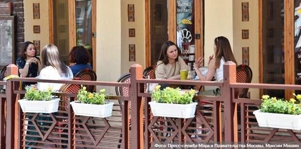 Рестораторы Москвы готовы внедрить систему QR-кодов в дневных заведениях Фото: М. Мишин mos.ru