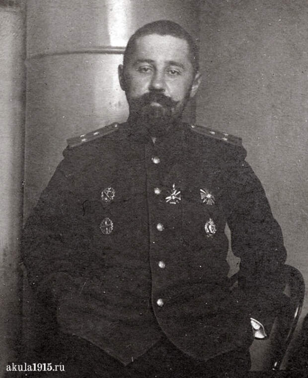 Один из первых подводников России