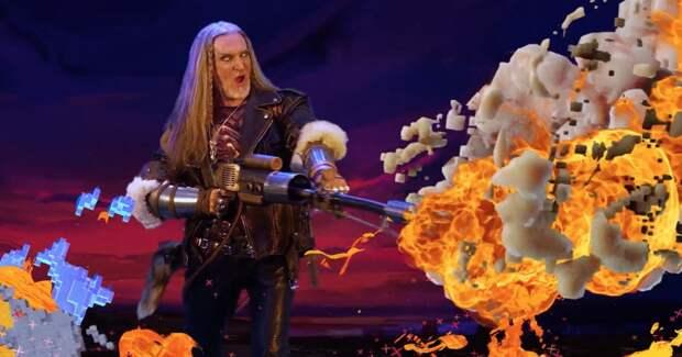 Никита Джигурда сжег недостатки видеоигр в рекламной кампании League of Legends