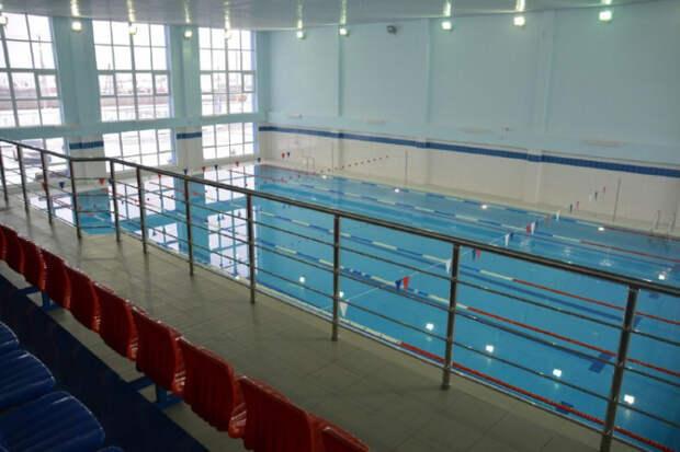 В Крымском районе Кубани построили спорткомплекс с бассейном