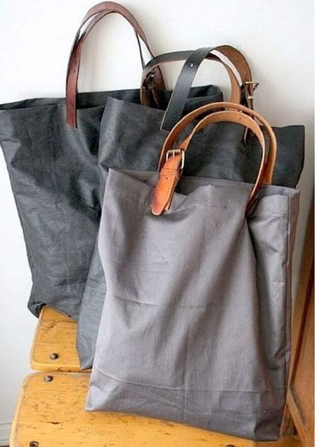 5. С помощью ремней легко сделать оригинальные сумки Стиль, дизайн, мастер на все руки, новая жизнь старых вещей, переработка, ремни, своими руками, сделай сам