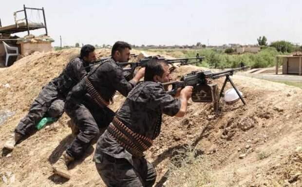 Турция ударила по позициям курдских Сирийских демократических сил