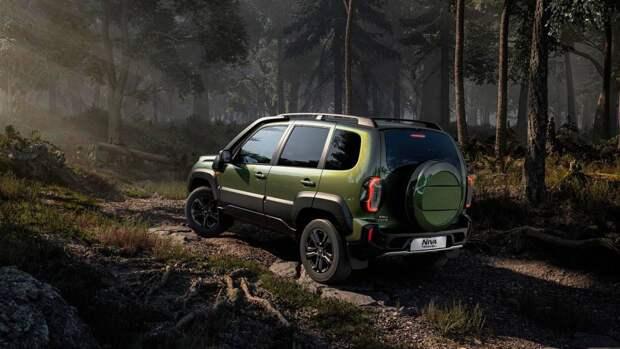 Lada Niva второго поколения показали на видео
