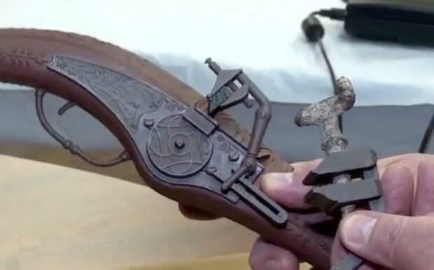 Пистолет которому 500 лет: находка в горах