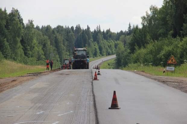 В Удмуртии начался ремонт дороги, соединяющей Сарапульский и Можгинский тракты