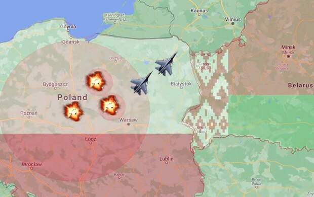 Поляки обсуждают войну с Россией. Но их разнесет даже Белоруссия