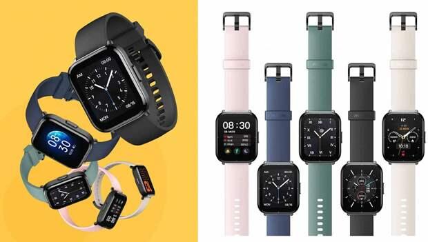 Представлены умные часы с большим экраном, 14 днями без подзарядки, SpO2 и 5 ATM дешевле $40. Встречайте Mibro Watch