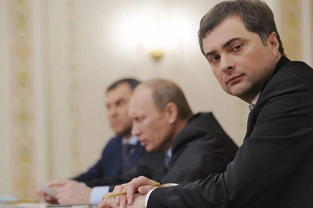 Сурков: Запад сам попросит Россию забрать себе попрошайку Украину