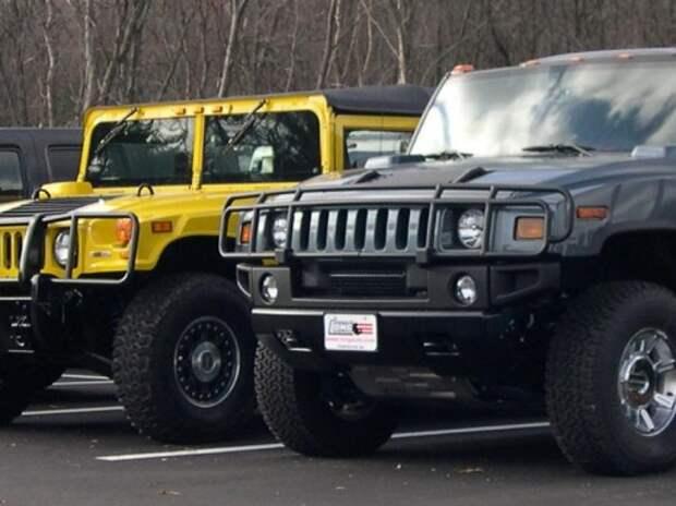 За неоплаченные штрафы на 600 тысяч у москвича отобрали Hummer