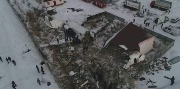 По делу о крушении самолета Bek Air близ аэропорта Алматы начато новое расследование (видео)