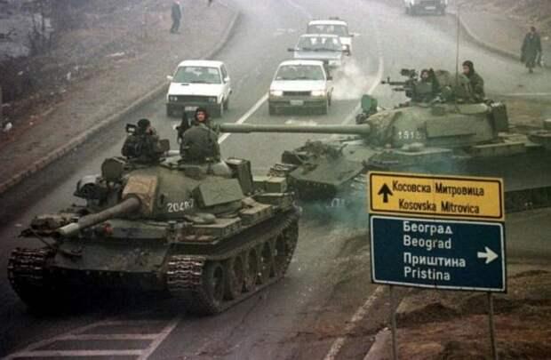 Агрессия НАТО против Югославии.