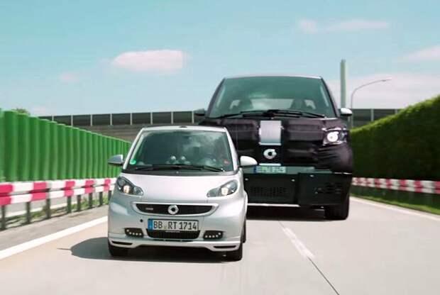 Smart презентует автомобиль-гигант
