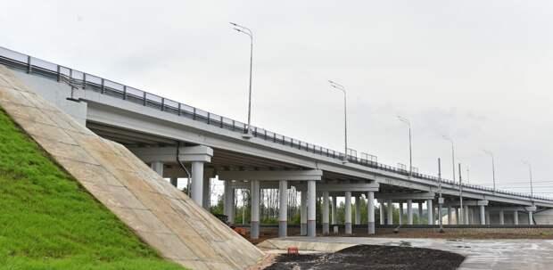 Конструкции эстакады над путями МЦК по Сусоколовскому шоссе будут готовы в мае