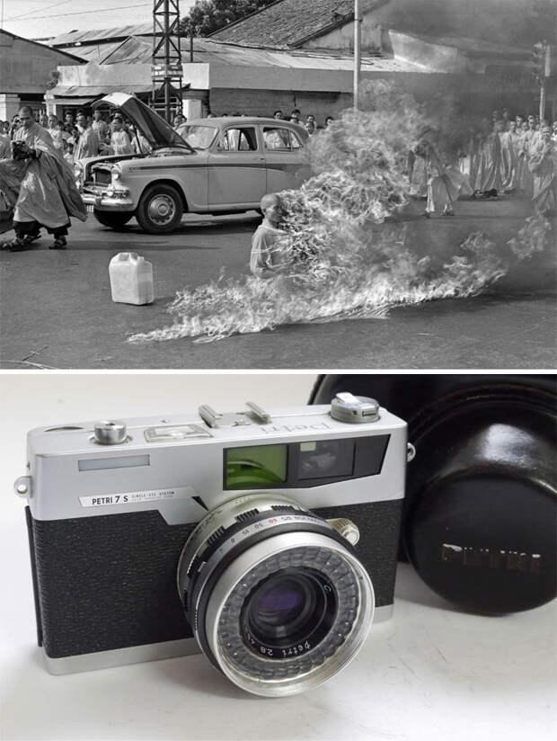 20 самых знаковых фотографий в истории - и камеры, на которые они были сняты