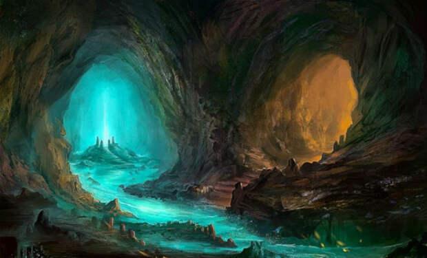 Подземный мир Антарктиды