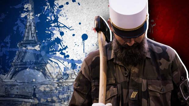 """Французские военные предупредили Макрона о """"распаде"""" страны"""