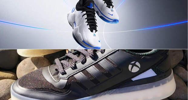 Война консолей выходит на новый уровень. Вслед за кроссовками Nike в стиле PlayStation, нас ждут Adidas в стиле Xbox