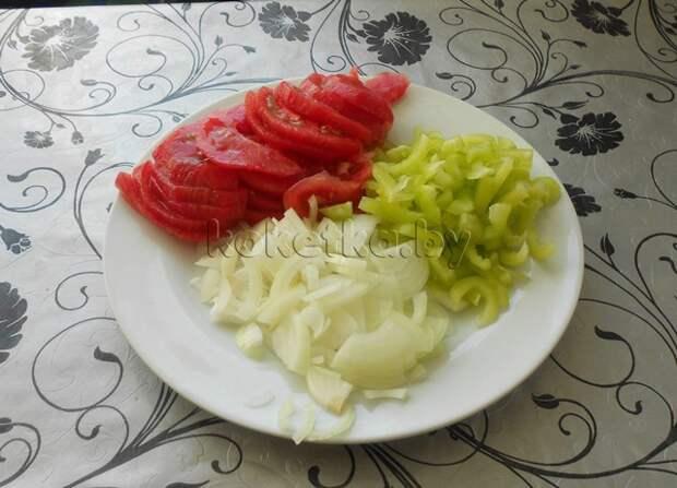 Яичница по-болгарски