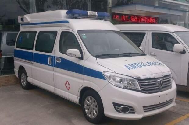 Жертвами взрыва в офисном здании в КНР стали два человека