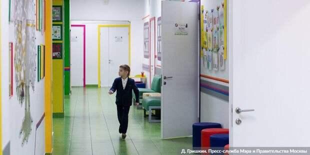 Собянин рассказал, почему старшеклассников переведут на дистанционку. Фото: Д. Гришкин mos.ru