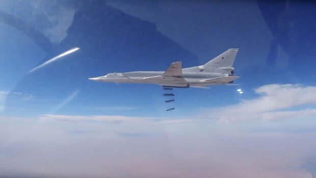 Ту-22М3 в ходе учений на Тихом океане потопили авианосцы условного противника