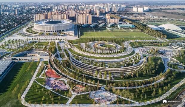Парк Галицкого в Краснодаре. История создания и достопримечательности парка Краснодар!