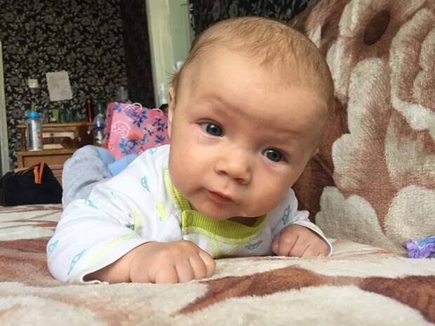 Шестимесячному малышу из Краснодарского края нужна помощь
