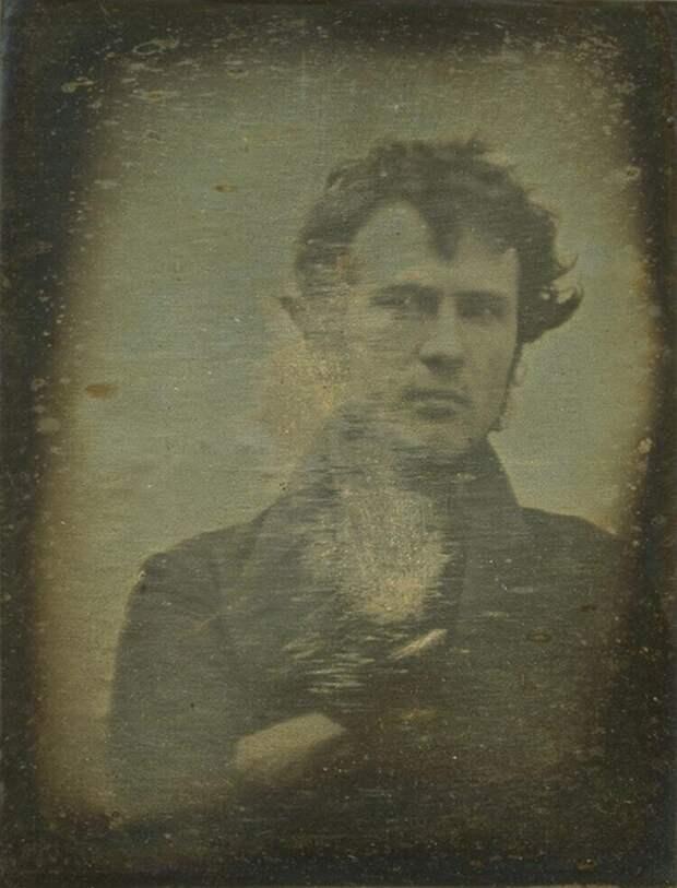 1. Возможно, самое старое из известных селфи, сделанное в 1839 году