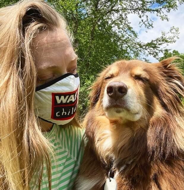 Аманда и ее собака