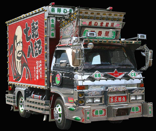 Тюнинг по-японски: грузовики Декотора
