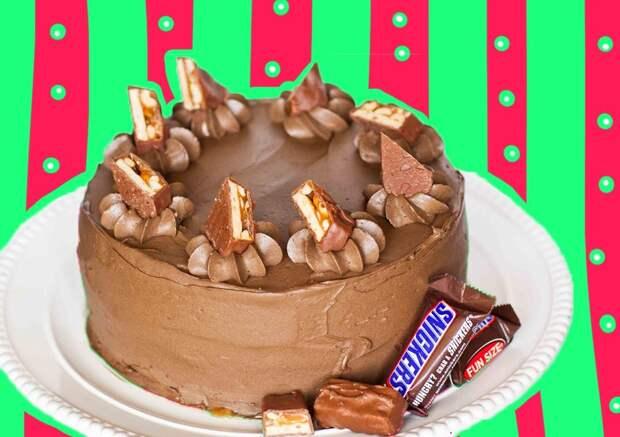 Торт «Сникерс»: классический рецепт любимого десерта