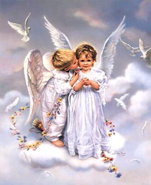 Притча «Разговор двух ангелов»