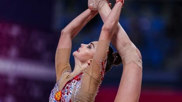 Гимнастка Аверина заняла первое место в многоборье на чемпионате Европы