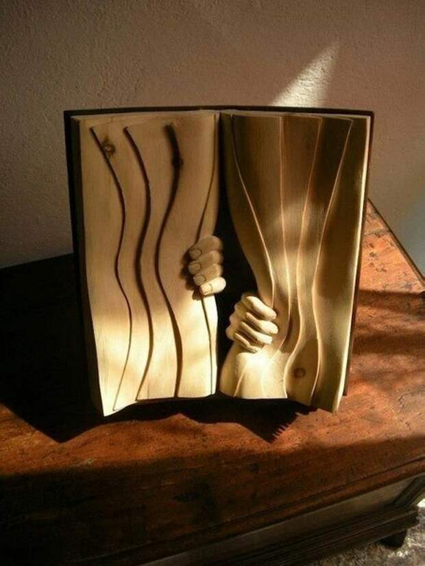 Деревянные книги Nino Orland