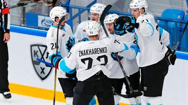 Минское «Динамо» прервало серию из пяти поражений подряд в КХЛ