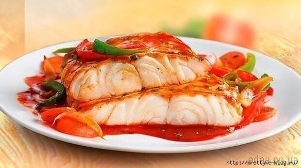 ПОХУДЕЙКИНЫ РЕЦЕПТЫ. Рыба с овощами