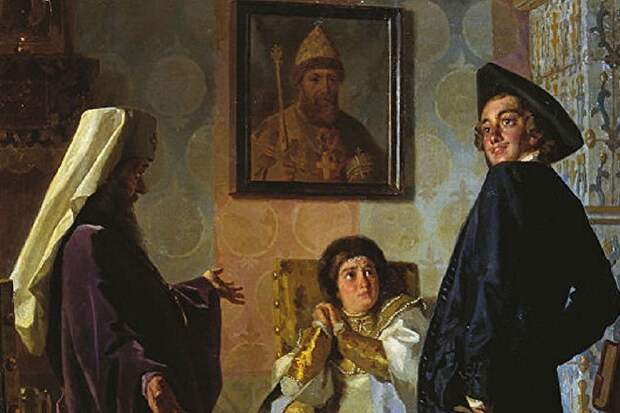 Как Петр Первый «украинизировал» русскую церковь