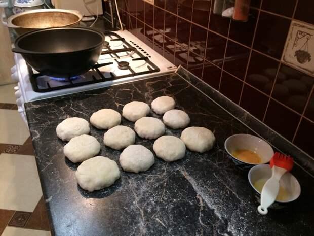 Приготовил самсу в казане восточная кухня, выпечка, кулинария