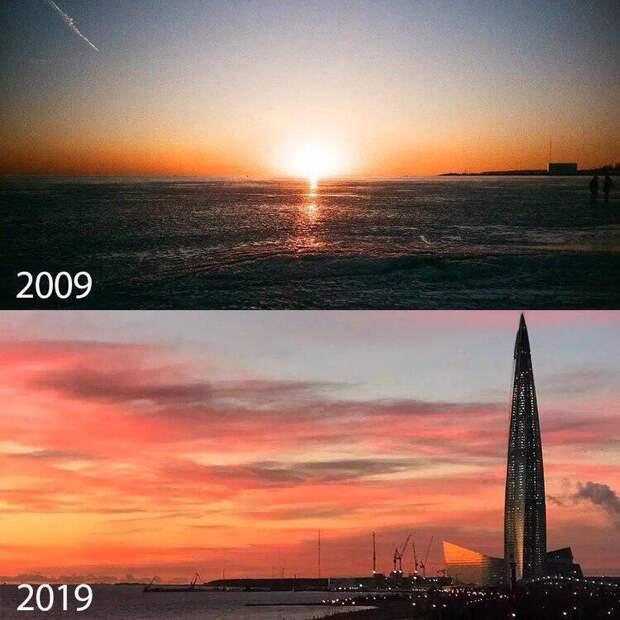 Как изменился Петербург за 10 лет