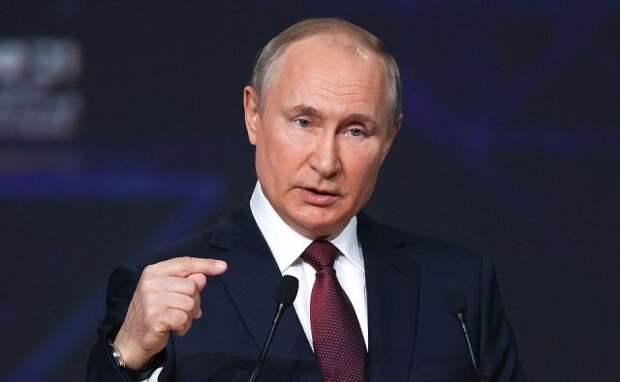 Путин дал интервью американскому телеканалу NBC News