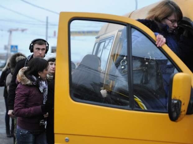 Столичные маршрутки станут частью единой системы общественного транспорта