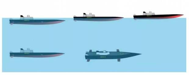Надводные корабли: перспективные конструкции против ПКР