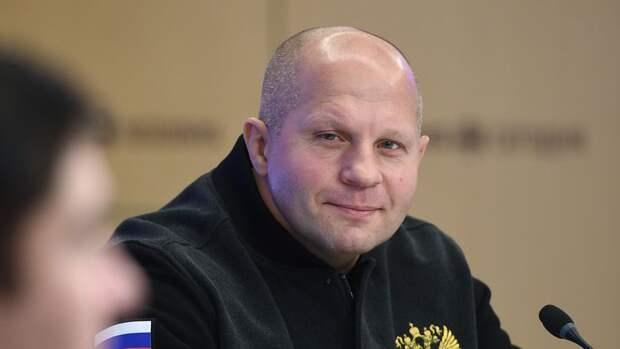Федор Емельяненко хочет провести осенью бой в Москве
