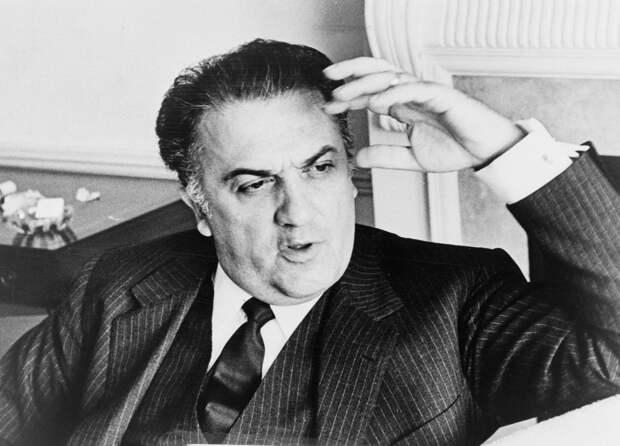 Исполнилось 100 лет со дня рождения Федерико Феллини
