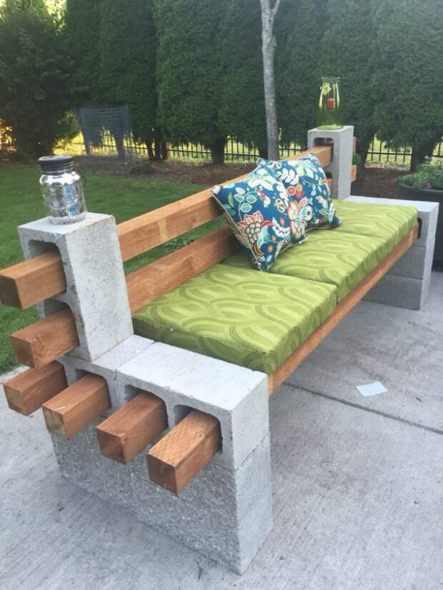 Идеи уличной мебели для сада, сделанной своими руками