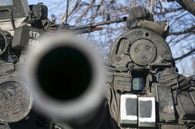 Россия обвинила Украину в стягивании войск к Донбассу