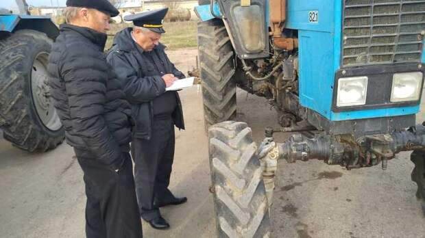 Почти 5% проверенных тракторов на Ставрополье имеют неисправности