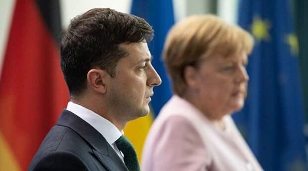 Зеленский едет в Берлин на жесткий разговор. Меркель готовится к визиту в Вашингтон