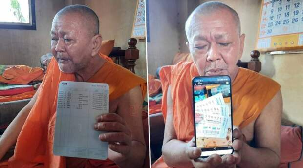 Монах стал миллионером из-за своей доброты