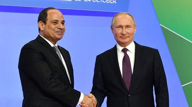 Россия и Египет проведут Год гуманитарного обмена